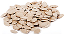 Pumpkin seeds. - Copyright – Stock Photo / Register Mark