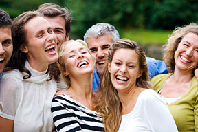 people laughing - Copyright – Stock Photo / Register Mark