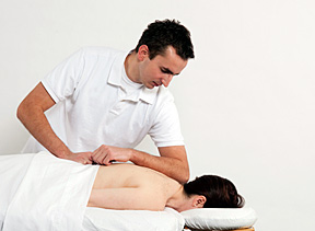massage the pain - Copyright – Stock Photo / Register Mark