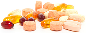 Dietary Supplements - Copyright – Stock Photo / Register Mark