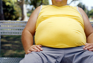 fat person - Copyright – Stock Photo / Register Mark