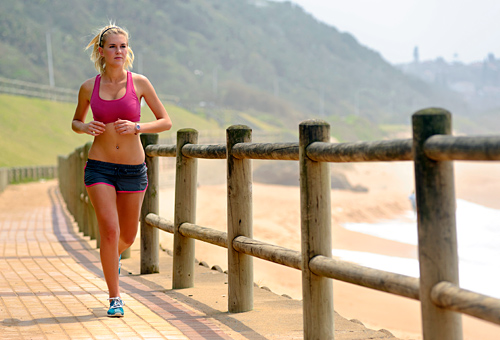 Running safely to lose weight