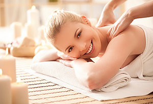 massage therapy - Copyright – Stock Photo / Register Mark