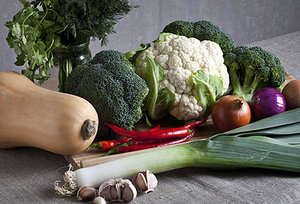 vegetables - Copyright – Stock Photo / Register Mark