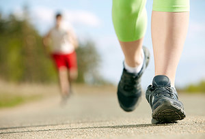 running - Copyright – Stock Photo / Register Mark