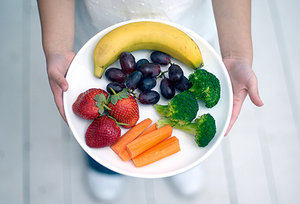eating clean - Copyright – Stock Photo / Register Mark