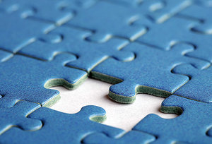 jigsaw puzzles - Copyright – Stock Photo / Register Mark