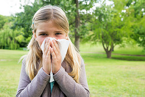childhood allergies - Copyright – Stock Photo / Register Mark