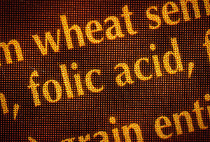 folic acid - Copyright – Stock Photo / Register Mark