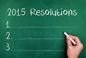 new year resolutions - Copyright – Stock Photo / Register Mark