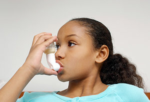 asthma - Copyright – Stock Photo / Register Mark