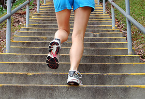 stair exercise - Copyright – Stock Photo / Register Mark