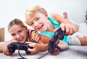 video games - Copyright – Stock Photo / Register Mark