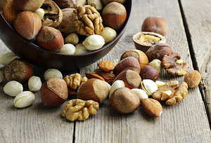 nuts - Copyright – Stock Photo / Register Mark