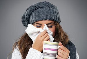 colds - Copyright – Stock Photo / Register Mark