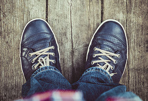 shoes - Copyright – Stock Photo / Register Mark