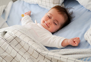 sleeping baby - Copyright – Stock Photo / Register Mark