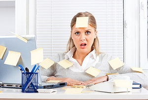 stress - Copyright – Stock Photo / Register Mark
