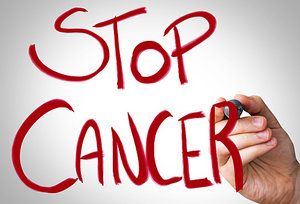 stop cancer - Copyright – Stock Photo / Register Mark
