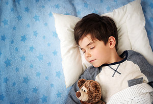 sleeping kid - Copyright – Stock Photo / Register Mark