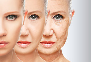 Anti-Aging - Copyright – Stock Photo / Register Mark