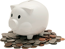 You will save money - Copyright – Stock Photo / Register Mark
