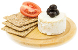 Cheese and crackers - Copyright – Stock Photo / Register Mark
