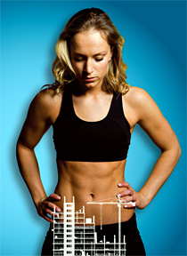 perfect abs - Copyright – Stock Photo / Register Mark