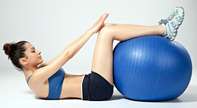 exercise ball - Copyright – Stock Photo / Register Mark