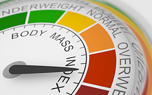 BMI Overweight - Copyright – Stock Photo / Register Mark