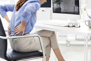 Backpain - Copyright – Stock Photo / Register Mark