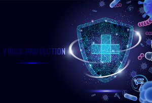 virus protection - Copyright – Stock Photo / Register Mark
