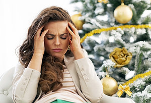 holiday stress - Copyright – Stock Photo / Register Mark