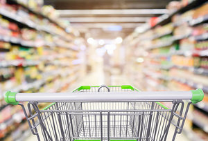 supermarket - Copyright – Stock Photo / Register Mark