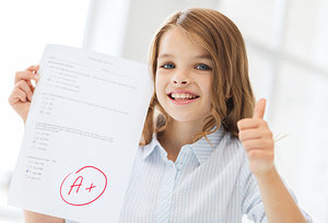 good grade - Copyright – Stock Photo / Register Mark