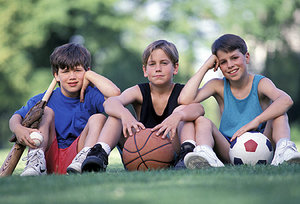 kids and concussions - Copyright – Stock Photo / Register Mark