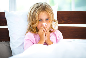 sick kid - Copyright – Stock Photo / Register Mark