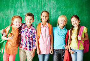 school kids - Copyright – Stock Photo / Register Mark