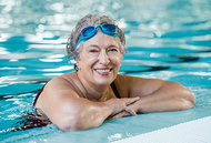 senior lady - Copyright – Stock Photo / Register Mark