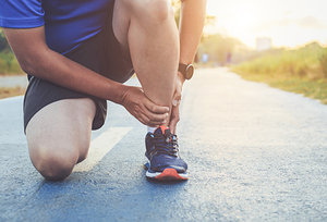 Sports Injuries - Copyright – Stock Photo / Register Mark
