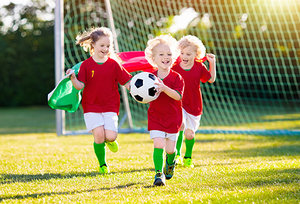 kids exercising - Copyright – Stock Photo / Register Mark