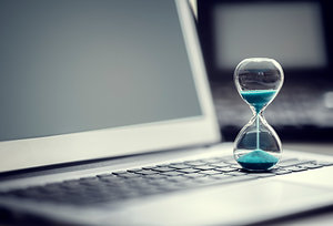 computer time - Copyright – Stock Photo / Register Mark