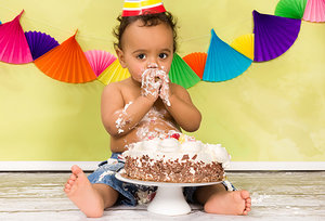 baby birthday - Copyright – Stock Photo / Register Mark
