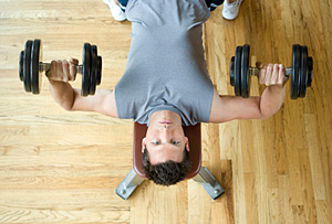 Weight Training - Copyright – Stock Photo / Register Mark