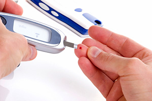 blood sugar test - Copyright – Stock Photo / Register Mark