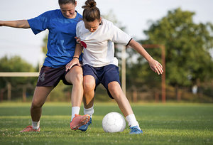 female athletes - Copyright – Stock Photo / Register Mark
