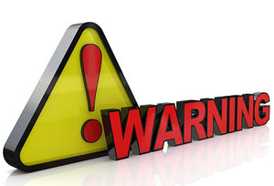 warning - Copyright – Stock Photo / Register Mark