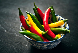 chili pepper - Copyright – Stock Photo / Register Mark