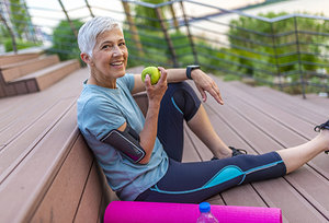 senior athlete - Copyright – Stock Photo / Register Mark