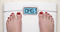 gaining weight - Copyright – Stock Photo / Register Mark